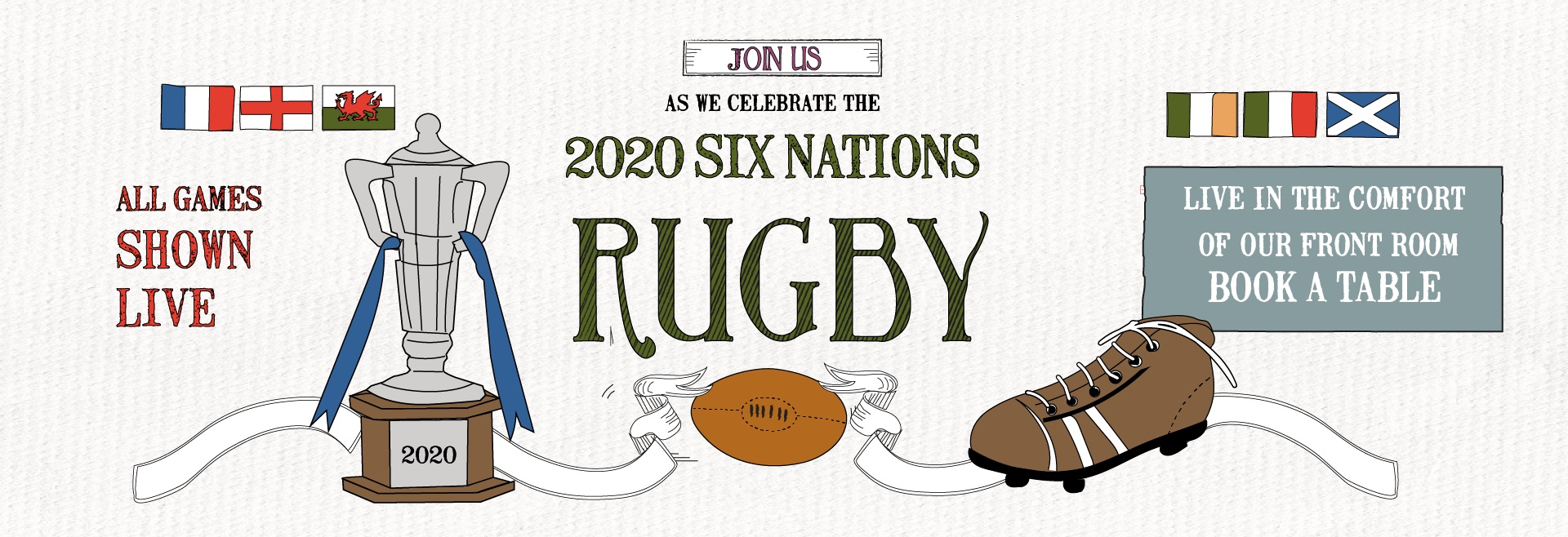 Six Nations at The Maid Of Muswell